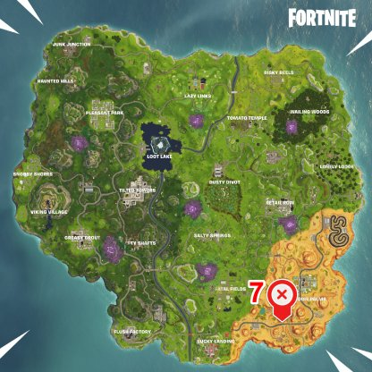 Fortnite Season 6 Week 5 Radar Speed Challenge