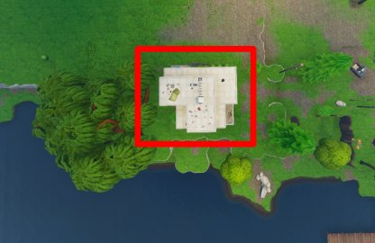 Fortnite Season 6 Week 4 Challenge Doorbell Location Leaky Lake