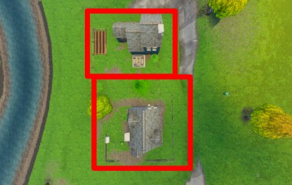 Fortnite Season 6 Week 4 Challenge Doorbell Location