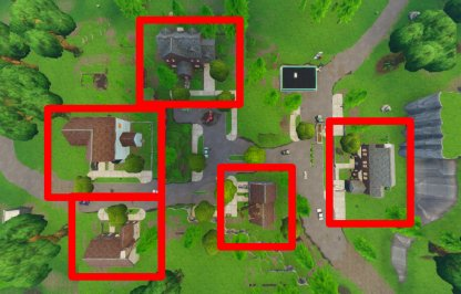 Fortnite Season 6 Week 4 Challenge Doorbell Location Salty Springs