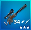 Semi-Auto Sniper Rifle Icon