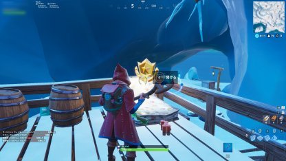 Season 7 Week 5 Secret Battle Star Location Close Up