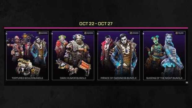 Apex Legends halloween bundle